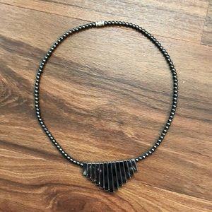NWOT Wolfram tungsten carbide necklace